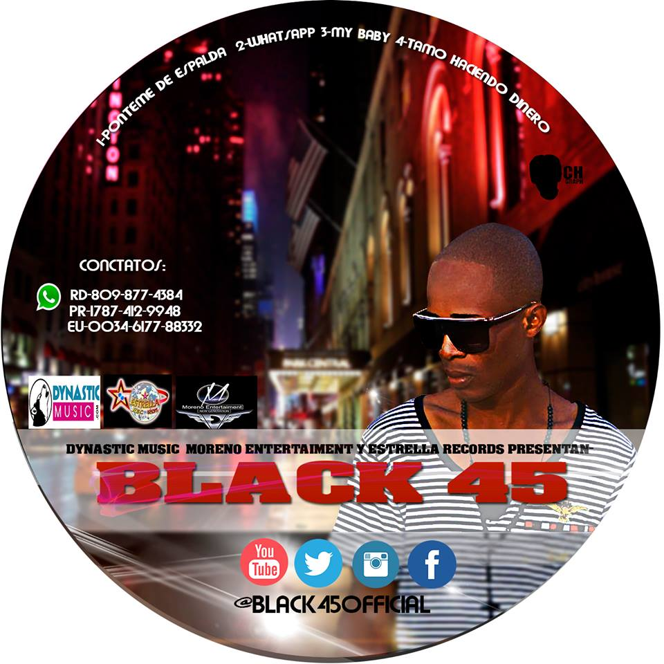ESTRENO : Black 45 – Ponteme De Espalda (Disponible En Itunes)