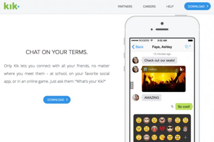 Kik, la app de mensajería que vuelve locos a los adolescentes