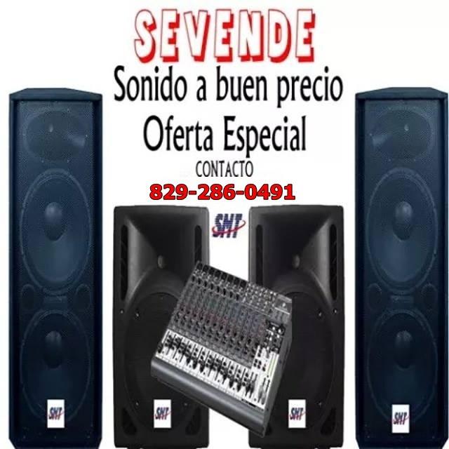 C- VENDE: EQUIPO DE SONIDO COMPLETO A PRECIO DE OPORTUNIDAD