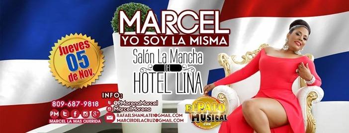 """Crecen expectativas concierto MARCEL """"YO SOY LA MISMA"""""""