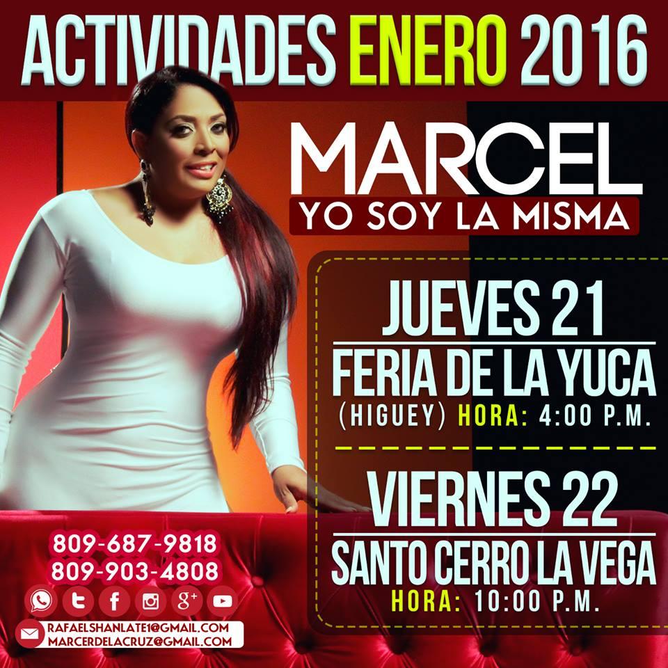 Marcel (La Mas Querida): Actividades  2016