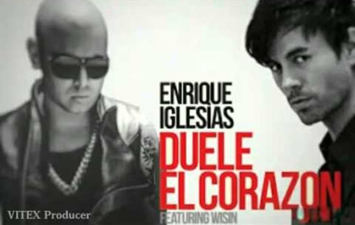 """Enrique Iglesias estrena """"Duele el corazón"""" en colaboración con Wisin"""