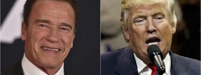 """Schwarzenegger: """"Donald Trump está enamorado de mí"""""""