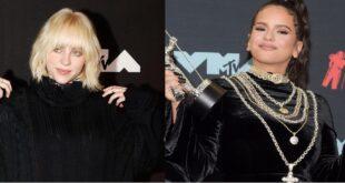 Billie Eilish y Rosalia ganan premio MTV de vídeo latino